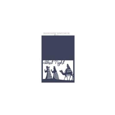 Delicate Yuletide - Nativity Card - PR