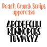 PN Peach Crumb Script - FN -  - Sample 2