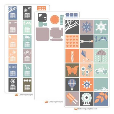 Modern Calendar - Cut Bundle