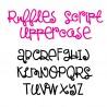 SNF Ruffles Script - FN -  - Sample 2
