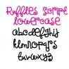 SNF Ruffles Script - FN -  - Sample 3