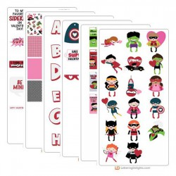 Build-A-Hero - Love - Graphic Bundle