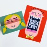 Just Smile - Face Cards - PR -  - Sample 2