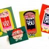 Just Smile - Face Cards - PR -  - Sample 4