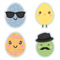 Kawaii Easter - Eggs - GS