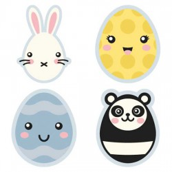 Kawaii Easter - Eggs - CS
