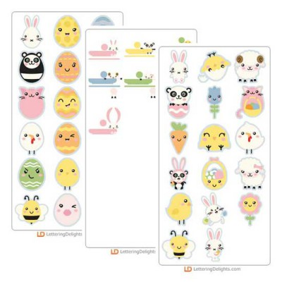 Kawaii Easter - Cut Bundle