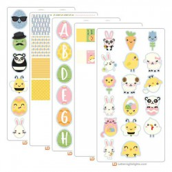 Kawaii Easter - Graphic Bundle