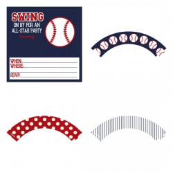 Home Run - Party Printables - PR