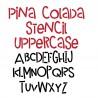 PN Pina Colada Stencil - FN -  - Sample 2