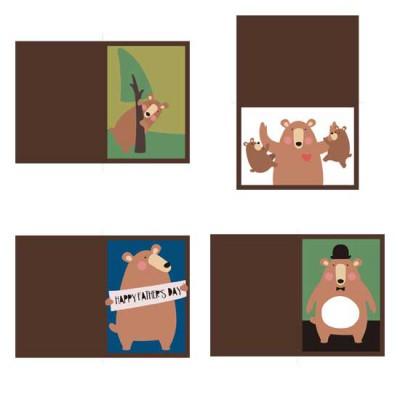 Papa Bear - Cards - PR