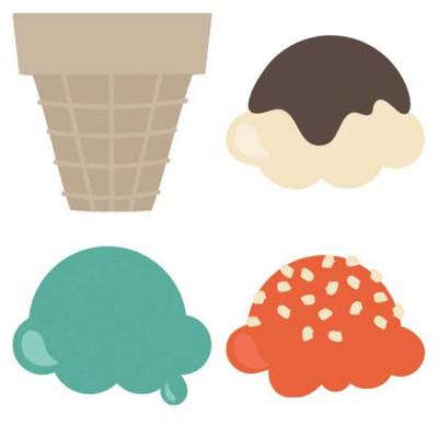 Get Your Float On - Stackable Ice Cream - CS