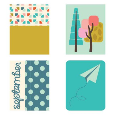 September - Planner Stickers - PR