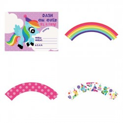 Ponymania - Party Printables - PR