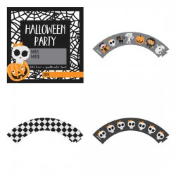 Happy Halloween - Party Printables - PR
