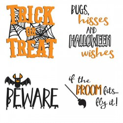 Happy Halloween - Sentiments - GS