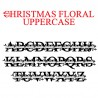 PN Christmas Floral Monogram Banner - FN -  - Sample 2