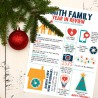 Happy Family - Holiday Decor - GS -  - Sample 2