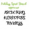 PN Holiday Spirit Stencil - FN -  - Sample 2