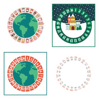 Christmas Around the World - Flat Advent - PR