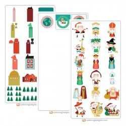 Christmas Around the World - Cut Bundle