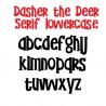ZP Dasher the Deer Serif - FN -  - Sample 3