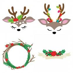 Oh Deer - Christmas - CS