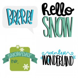 Winter Cuties - Sentiments - CS