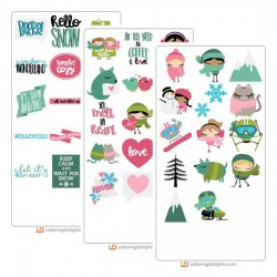 Winter Cuties - Cut Bundle