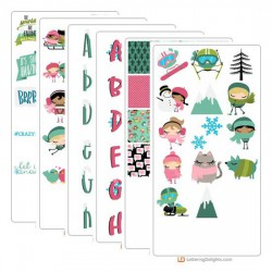 Winter Cuties - Graphic Bundle