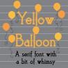 PN Yellow Balloon - FN -  - Sample 2