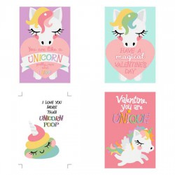 Unicorn Dreams - Valentines - PR