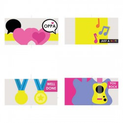 K Pop - Cards - PR