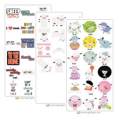 Feeling Sheepish - Cut Bundle
