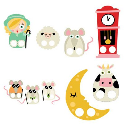 Mother Goose - Finger Puppets - CP