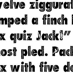 LD Gecko - Font