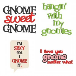 Gnome Sweet Gnome - Puns - GS