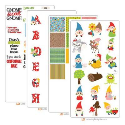 Gnome Sweet Gnome - Graphic Bundle