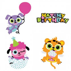 Hatched Animals - Party - CS