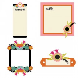 Lavish Ladies - Frames and Notes - CS