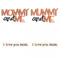 Mommy and Me Menagerie - Sentiments - CS