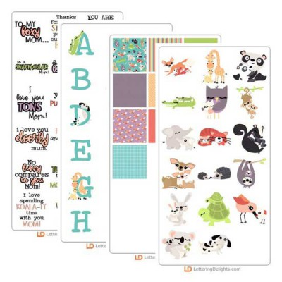 Mommy and Me Menagerie - Graphic Bundle