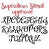 PN Supercilious Stencil - FN -  - Sample 2