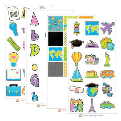 Oh The Places You'll Go - Graphic Bundle