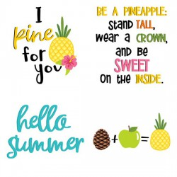 Pineapple Tart - Sentiments - GS