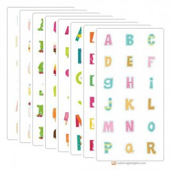 Summer Sensations - Alphabet Bundle