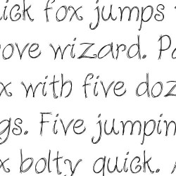 LD Chicken Scratch - Font
