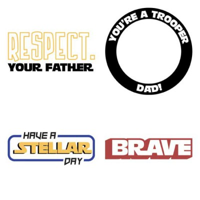 Best Dad in the Galaxy - Sentiments - GS