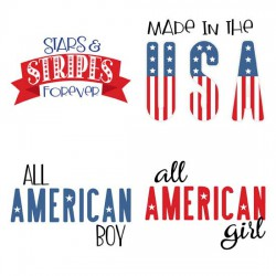 Made in the USA - Phrases - GS
