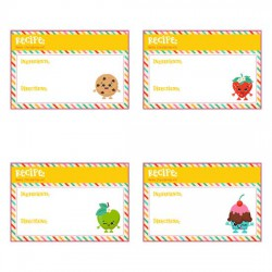 Snookins - Recipe Cards - PR